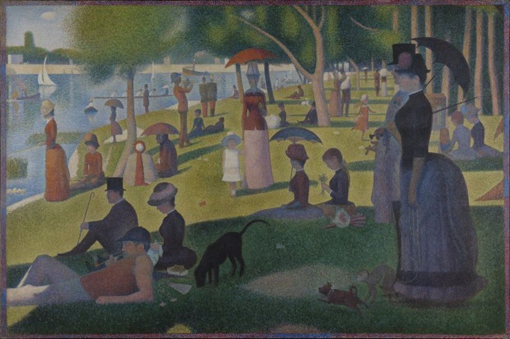 Georges Seurat - A Sunday on La Grande Jatte -- 1884.jpg